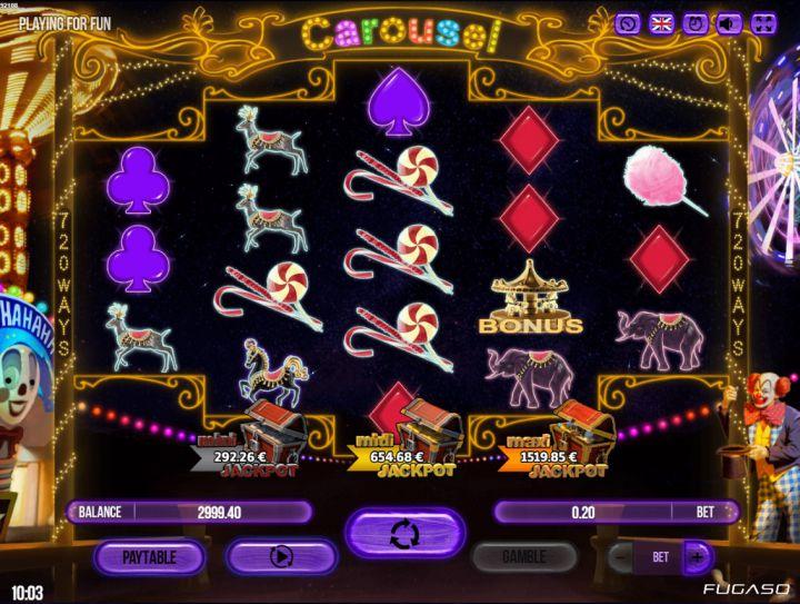 Carousel Slot Game