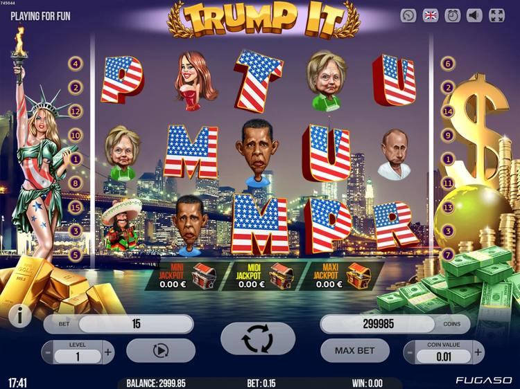 Trump It Slot Game