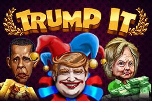 Trump It Slot Logo